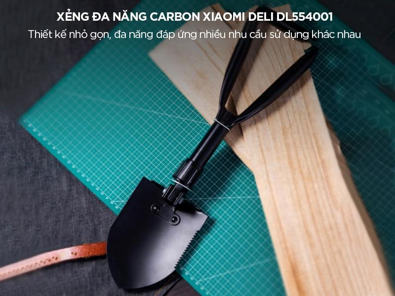 Xẻng đa năng Carbon Xiaomi Deli DL554001