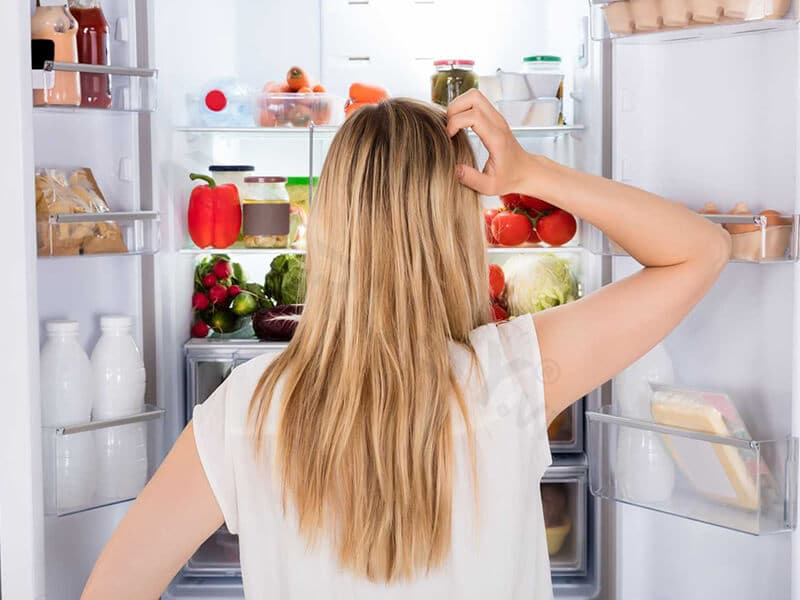 Bảo quản thực phẩm không đúng cách