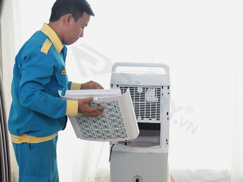 Bảo trì khi quạt điều hòa bị rỉ nước kém