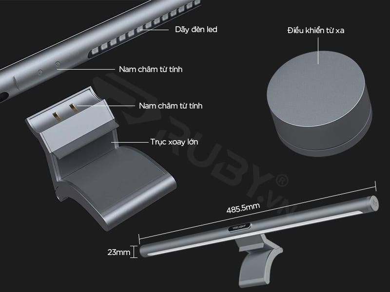 Cấu tạo Đèn treo màn hình bảo vệ mắt Xiaomi Yeelight YLTD003