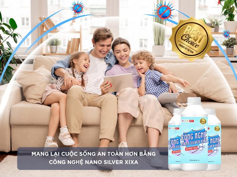 Dung dịch khử khuẩn Nano Bạc (Silver) Xixa