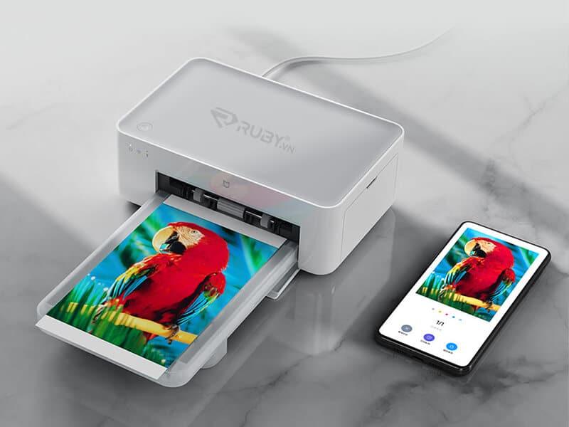 Máy in ảnh mini bỏ túi Xiaomi Mijia 1S