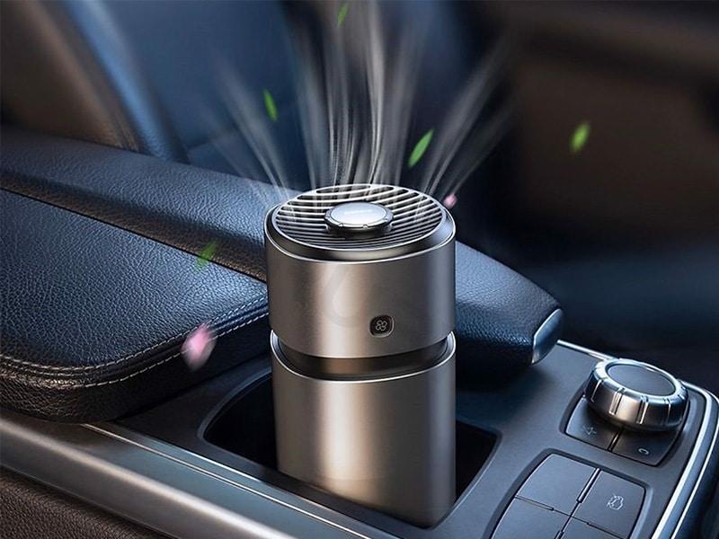 Máy lọc không khí và khử mùi ô tô Baseus Breeze Fan Air Freshener