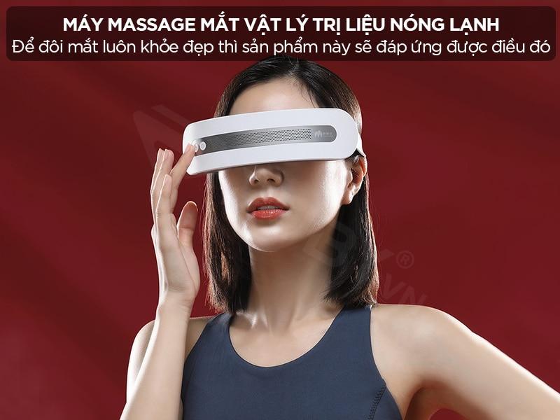 Máy massage mắt vật lý trị liệu nóng lạnh Xiaomi Momoda SX328