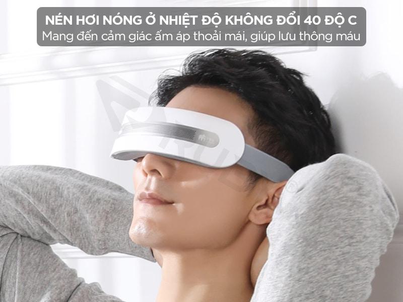 Máy massage mắt nén hơi ở nhiệt độ không đổi