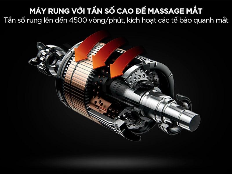 Máy massage rung ở tần số cao