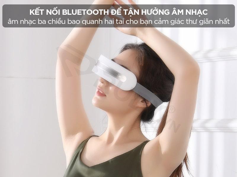 Máy massage mắt Xiaomi có kết nối bluetooth