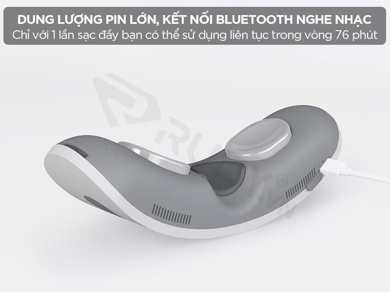 Máy massage mắt Momoda SX328 có dung lượng pin lớn