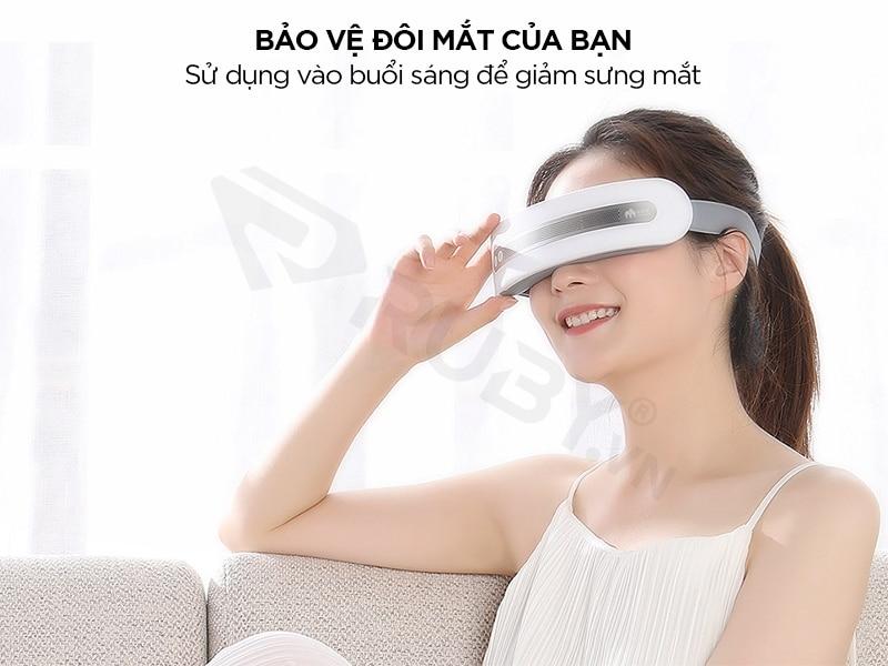 Máy massage mắt bảo vệ đôi mắt