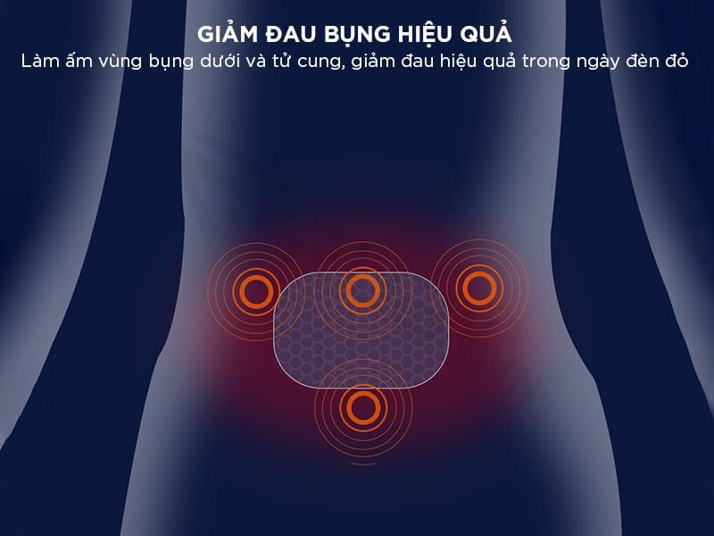 Máy giảm đau bụng hiệu quả