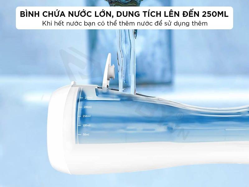Máy tăm nước mini có dung tích lớn