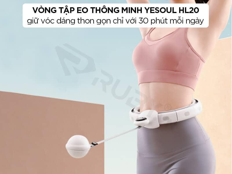 Vòng lắc eo thông minh Xiaomi Yesoul HL20