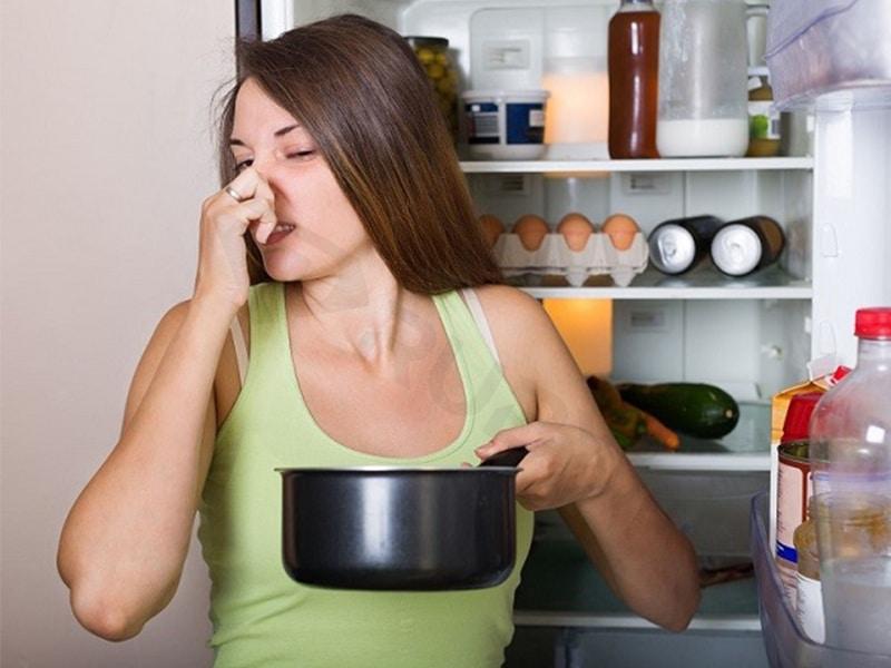 Nguyên nhân tủ lạnh có mùi hôi