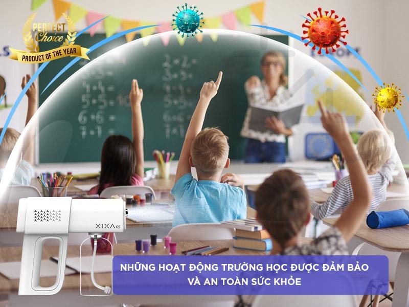 Đảm bảo sức khoẻ ở trường học