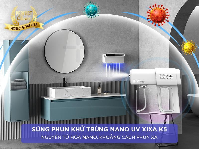 Súng phun nano tiện lợi