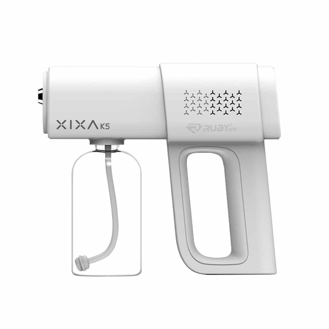 Súng phun sương khử khuẩn cầm tay tia UV XIXA K5 | Ruby.vn