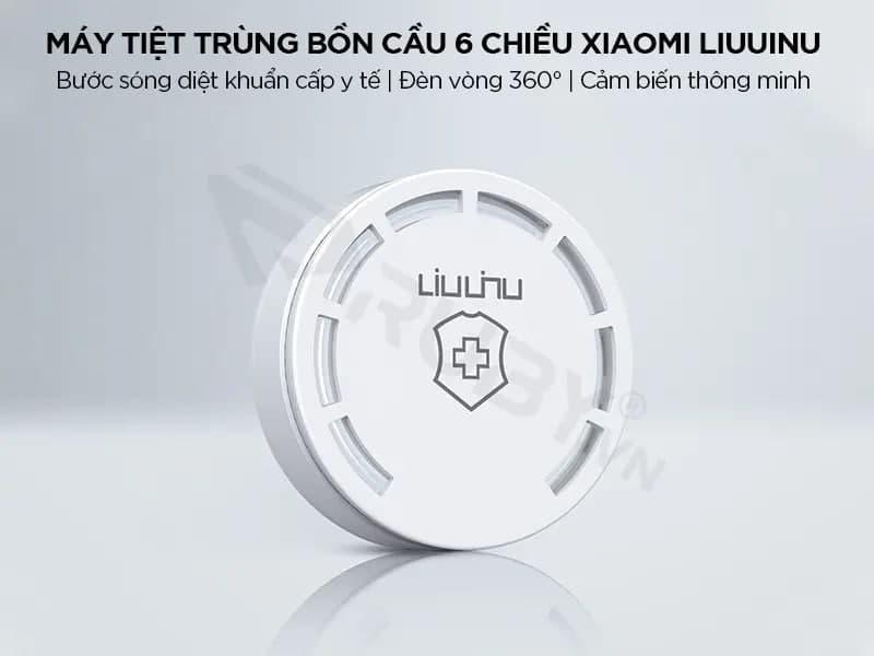 Sử dụng máy khử trùng bồn cầu 6 chiều Xiaomi LIUUINU LSZWD02W