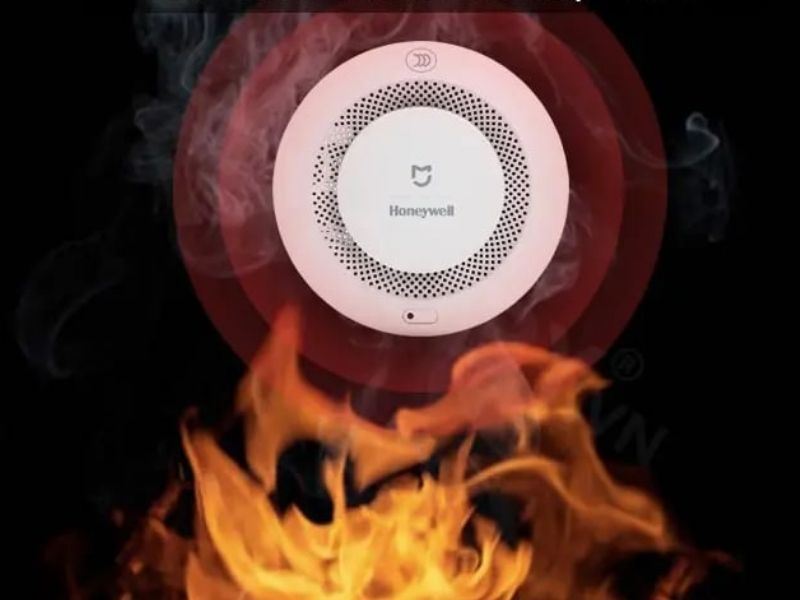 Bộ cảm biến báo cháy Xiaomi Mijia Honeywell