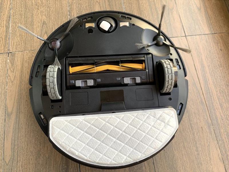 Phần bánh xe của robot hút bụi mini