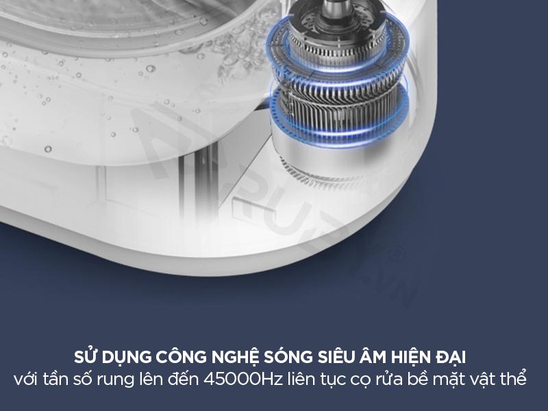 Máy làm sạch siêu âm tần số rung 45000Hz
