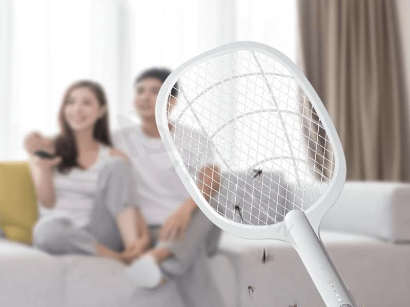 Thiết kế và chất liệu vợt muỗi Xiaomi